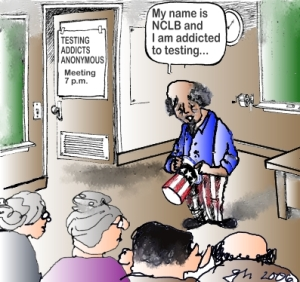 Click the image for more NCLB cartoons.