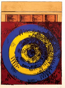 "Jasper Johns, ""Target With Four Faces"" (click on image for more information)"