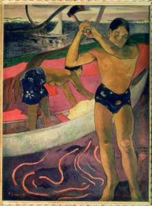 "Paul Gauguin ""The Man with an Axe"""