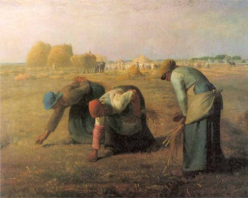 Jean-Francois Millet, The Gleaners, 1857