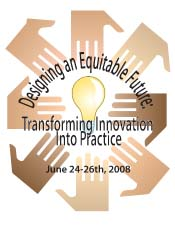 Logo for the 2008 Minority Student Achievement Network (MSAN) Conference, for more on MSAN click the image.